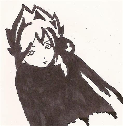 Anime Character In A Cloak By Horticultureboy On Deviantart