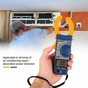 Digital Clamp Meter Multimeter Ac  Dc Voltage Current