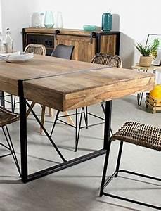 Table à Manger Carrée : table manger bois massif ovale et carr e made in meubles ~ Teatrodelosmanantiales.com Idées de Décoration
