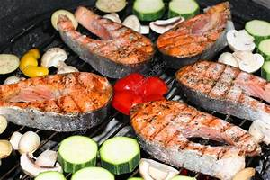 Fish barbeque — Stock Photo © solosana #2890839