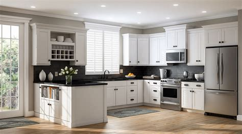shaker style kitchen cabinets home depot create customize your kitchen cabinets shaker wall