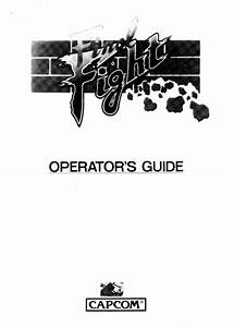 Final Fight Final Fight Operators Guide   Free Download