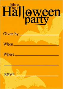5, Free, Halloween, Invitation, Templates, To, Email