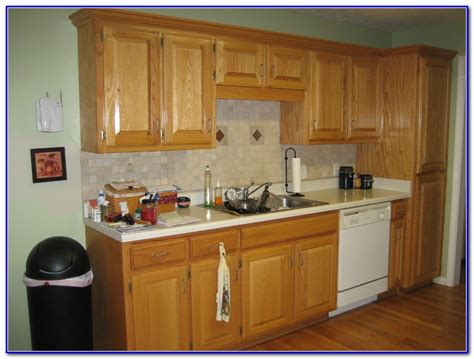 Popular Kitchen Paint Colors With Oak Cabinets  Home