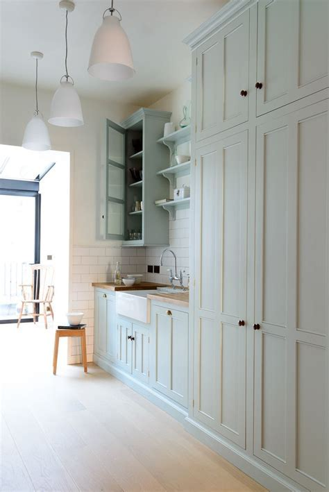 A beautiful galley style kitchen from deVOL's Classic