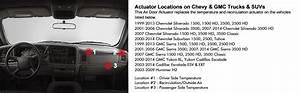 Amazon Com  Blend Door Actuator For Chevy Silverado 1500