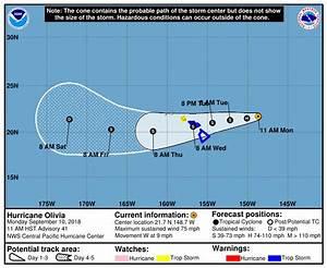 Hurricane Olivia Update for 11 am Monday