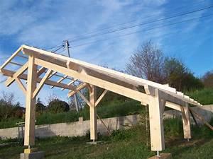 amenagement bois charpentier en lot et garonne 47 With amenagement de jardin photos 13 charpente