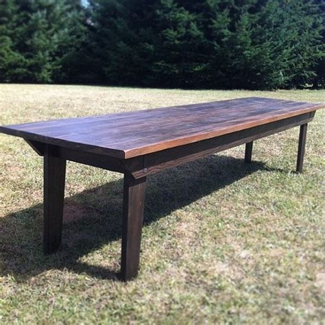 outdoor farmhouse dining table rustic farm table for large dining space indoor outdoor