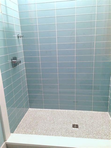 light blue subway tile bathroom 25 best ideas about glass subway tile on