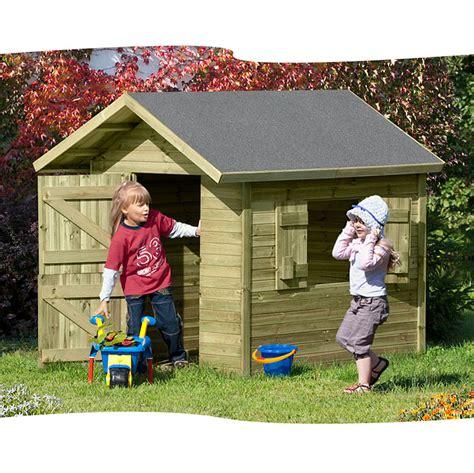 Gartenhäuser Für Kinder by Kinderspielhaus 150 X 120 Cm Aus Holz Impr 228 Gniert