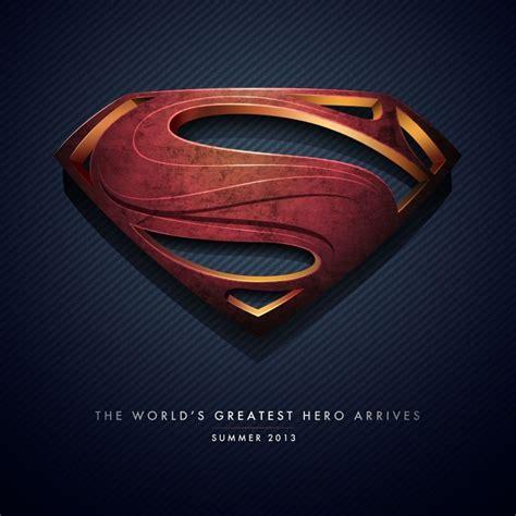 Superman Logo Man Of Steel iPad Wallpaper | Movies iPad ...