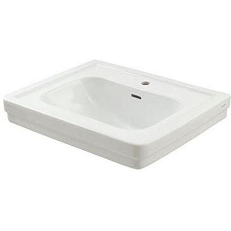 toto pedestal sink single toto promenade 28 in pedestal sink basin with single