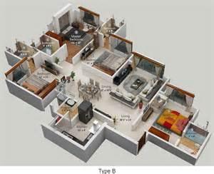 Sims 3 Master Bedroom by Flats In Hiranandani Powai Chandivali Andheri East
