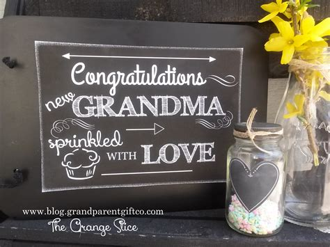 How To Hold A Grandma Shower The Sprinkle  The Orange