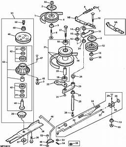 John Deere X320 48 Mower Deck Parts Diagram