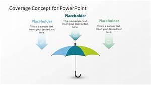 Umbrella Template Powerpoint Diagram