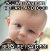Skeptical Baby Meme - Imgflip