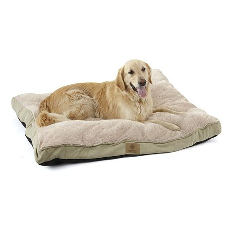 plush pet kennel deluxe fur suede like pet bed