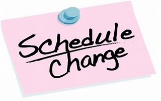 Image result for schedule changes