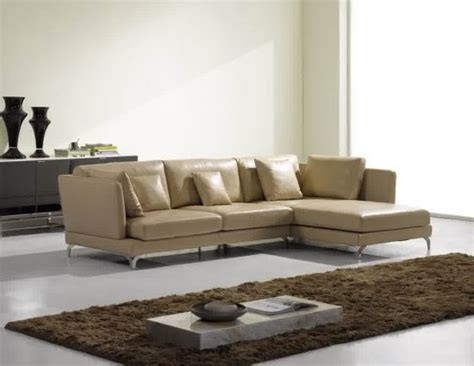 small cream leather sofas  cozy  elegant small