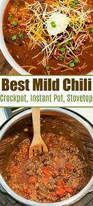 Mild Chili Recipe Using Ingredients In Your Pantry And