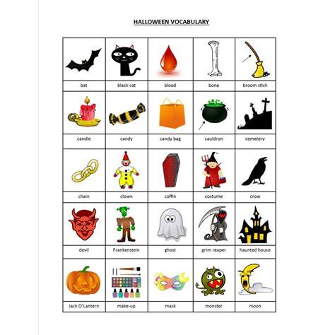 Mon Livret D\'halloween (anglais Langue Seconde