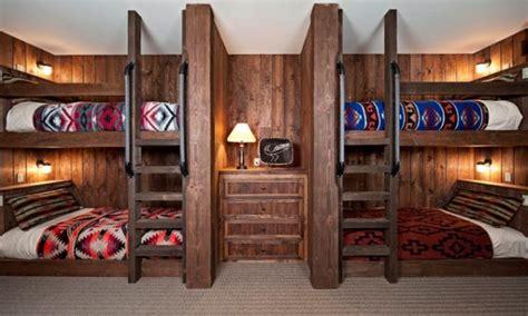 bunk beds built  wall cabin built  bunk bed cabin
