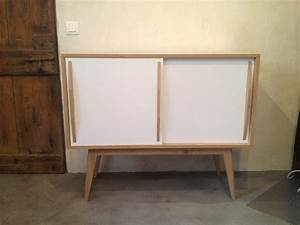 Petit Buffet Scandinave : meuble rangement scandinave bricolage maison et d coration ~ Teatrodelosmanantiales.com Idées de Décoration