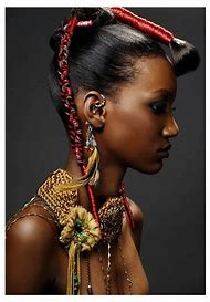 African Woman Fashion