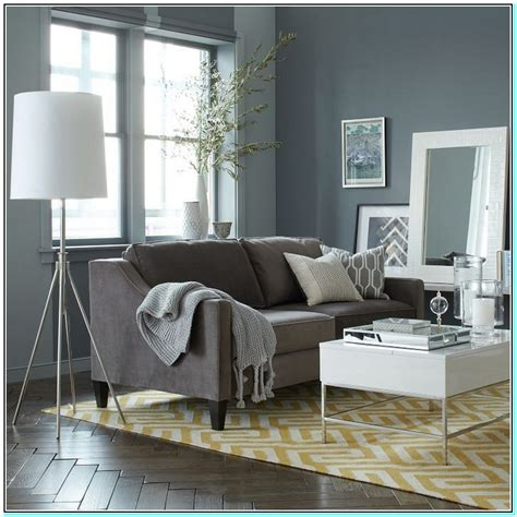 what color furniture goes well with gray walls w wall decal