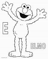 Elmo Coloring Pages Printable Letter Sheets Sesame Street Cool2bkids Birthday Halloween Shows Film Tv Books sketch template