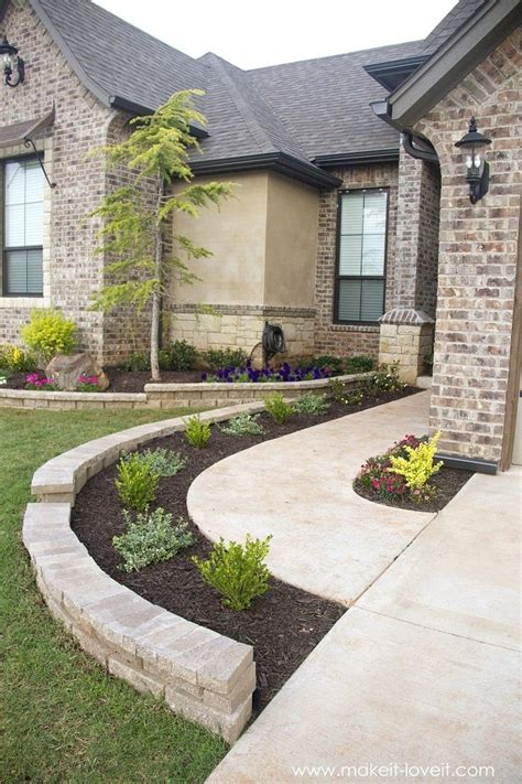 front walkway garden plans 20 gorgeous front sidewalk landscaping ideas for your house garden design