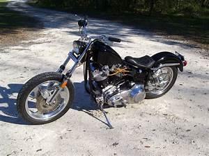 1975 Harley Davidson Shovelhead  Flh  Bobber  Not Fx  88