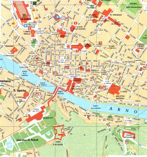 florence city map google search travel maps