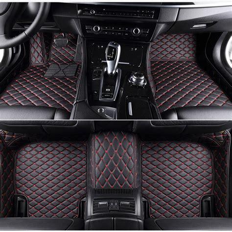 custom leather floorliner  car floor mats  chrysler