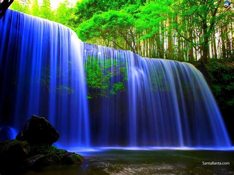 hd cool beautiful water purple waterfalls wallpaper 56