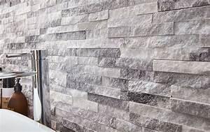 Pierre De Parement Exterieur Pas Cher : plaquette de parement pierre naturelle blanc ultra artic ~ Voncanada.com Idées de Décoration