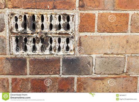 old fashioned wall ls old fashioned vent stock image image 38196871