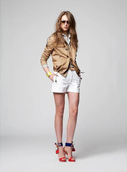dsquared  pre spring summer womens lookbook eurotour