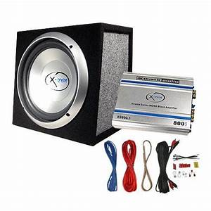 Acoustic Audio Xs10a 500 Watt 10 U0026quot  Car Subwoofer Box