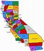 California county map - Google Search | Vision Board (for ...