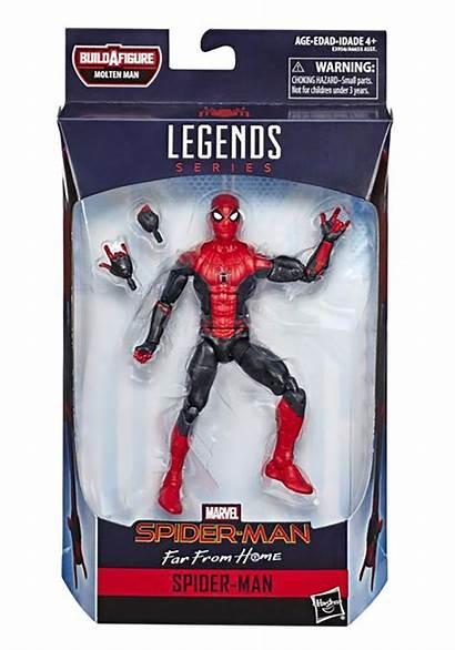 Spider Far Marvel Legends Action Figure Alt