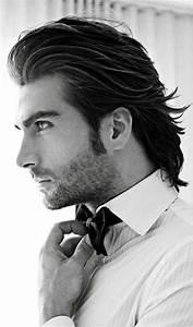 Coupe Cheveux Homme Long : 1001 id es coupe de cheveux homme mi long silence a ~ Mglfilm.com Idées de Décoration