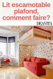 Lit Escamotable Plafond : les 25 meilleures id es de la cat gorie lit escamotable ~ Premium-room.com Idées de Décoration