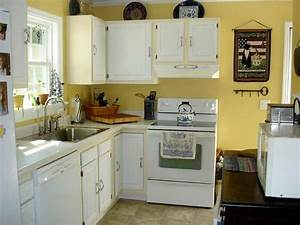 kitchen cabinets white paint quicuacom With kitchen colors with white cabinets with yellow metal wall art