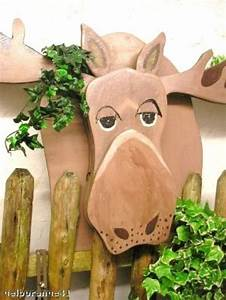 Große Buchstaben Deko : gartenfiguren elch rentier rudi gro e deko weihnachten winter ein designerst ck von ~ Sanjose-hotels-ca.com Haus und Dekorationen
