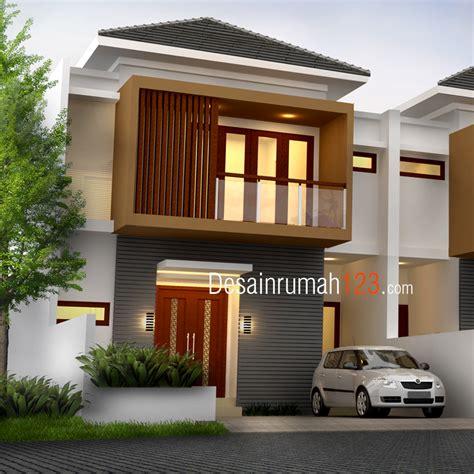 desain rumah  lantai  lahan     dr rm