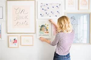 Bilder Ohne Nagel Aufhängen : home makeover how to build a gallery wall lauren conrad ~ Orissabook.com Haus und Dekorationen