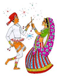 Animated Navratri Wallpapers - animated navratri graphic desicomments